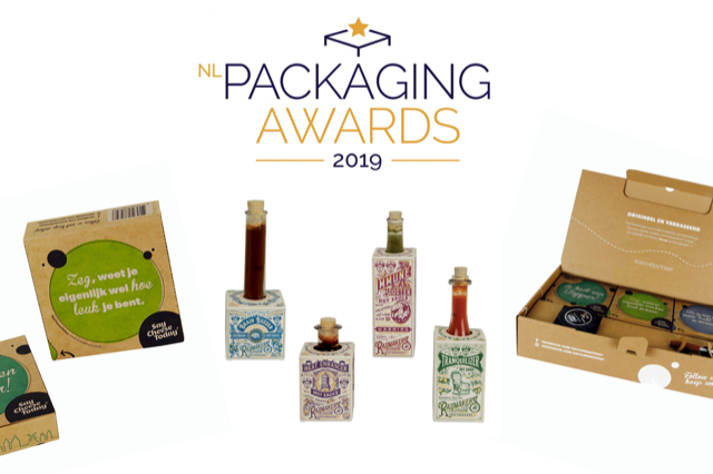 3 nominaties voor NL Packaging Award 2019